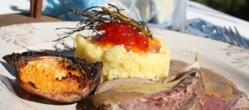 Filet d'Agneau aux 4 Epices, Purée de Patate Douce et Confiture de Poivron