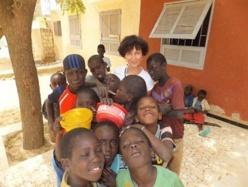 Christine Thuault s'engage pour les enfants talibés de Saint-Louis.
