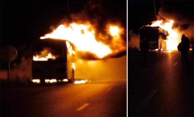Guet-Ndar : Un bus incendié pour avoir fauché un enfant. Deux camions caillassés …