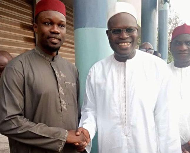 Menace de dissolution du PASTEF : Khalifa SALL apporte son soutien à Ousmane SONKO