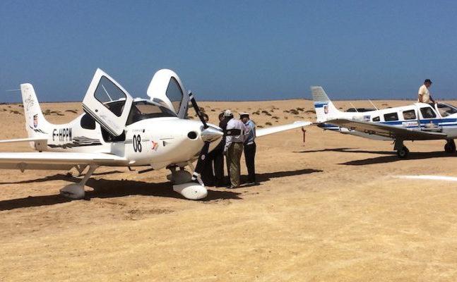Un équipage de jeunes pilotes invités sur le Toulouse-Saint-Louis du Sénégal