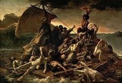 Le radeau de la Méduse et le sacrifice de Talatay Nder: Deux destins tragiques liés.