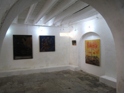 Itinéraires Artistiques de Saint-Louis : Une trentaine d'œuvres d'art sur les cimaises de la Galerie Maam Thiouth.