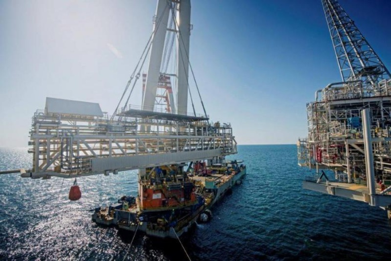 Grand Tortue Ahmeyim pour BP : premier chargement de roches à Nouakchott