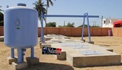 Nouvelle station de Pompage à Darou : Quelques 570 sociaux effectuées.