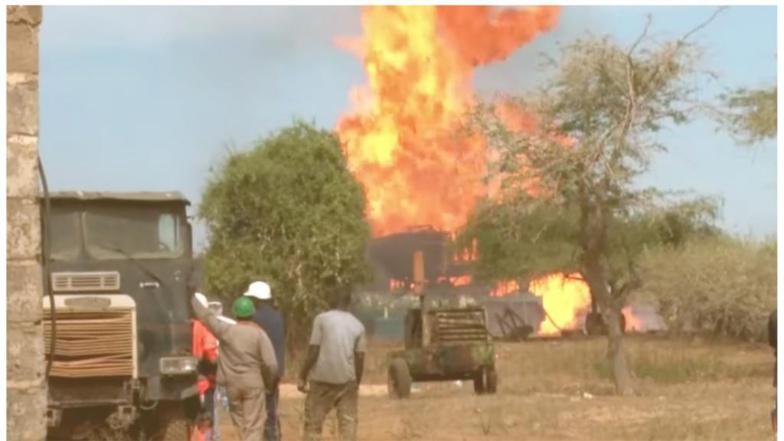Un gendarme perd la vie dans l'incendie des puits de Gaz de Ngadiaga
