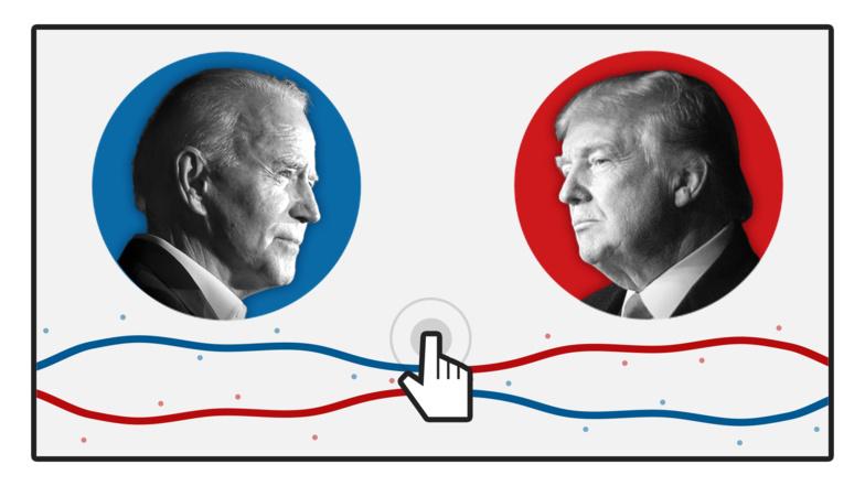 Sondage : Joe Biden déjà plus populaire que Donald Trump ne l'a jamais été