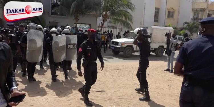 Echauffourées chez Sonko: Les personnes arrêtés déférées au parquet
