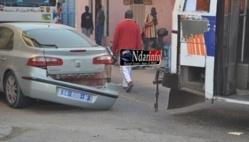 Saint-Louis : Collision entre un véhicule particulier et un bus tata.