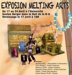 Saint-Louis - Démarrage de l'exposition ''Melting Arts'', du 17 au 24 avril 2013.