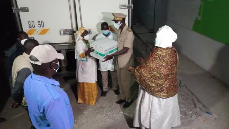 Vaccins contre la Covid-19 : Saint-Louis reçoit ses premières doses | PHOTOS |