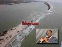 Saint-Louis : Macky Sall annonce des mesures ''sans délais'' contre les dangers de la brèche.