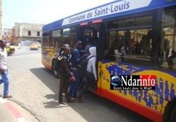 Saint-Louis : Les Transporteurs prennent en otage des bus de la Commune.