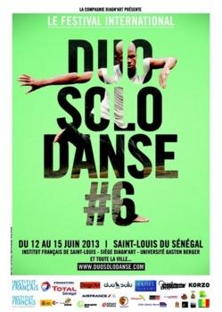 Culture : Saint-Louis va danser au rythme du Festival Duo Solo 2013.