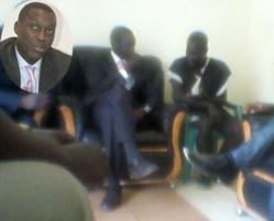 L'ambassadeur Babacar Diagne a rencontré le prisonnier saint-louisien Saliou Niang (source diplomatique)