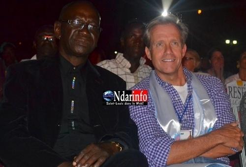 Lewis Lukens, l'ambassadeur des USA au Sénégal à la clôture du Festival de Jazz