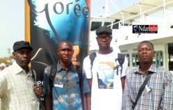 Culture : Quatre pinceaux saint-louisiens à l'assaut de Gorée.