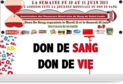 Saint-Louis : l'ADOBESS célèbre la journée mondiale du don de sang, ce 14 juin.