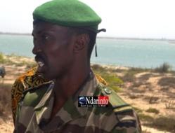 lieutenant Oumar Kane, directeur adjoint de la division des parcs et réserves du Nord.