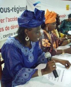 SaintLouis: formation sur la parité à l'intention de femmes leaders rurales.