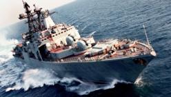 Arrivée de Barack Obama : Un navire de guerre patrouille à Saint-Louis.