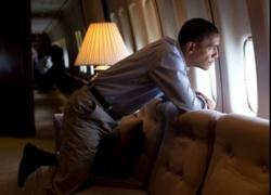 Direct : l'avion d'Obama a décollé de la base d'Andrews(Washington).