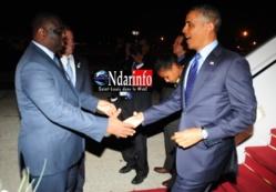 L'arrivée d'Obama en Photos.