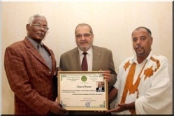 Mauritanie: L'Administrateur de Cridem (partenaire de Ndarinfo), a été décoré de la médaille de ''citoyen d'honneur''.