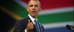 Afrique du Sud : Obama visite Robben Island, la prison de Mandela