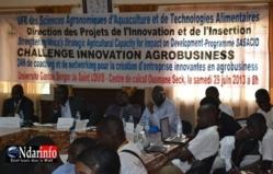 UGB - DP2I: Deux projets d'étudiants financés à l'issue d'un Challenge Innovation Agrobusiness.