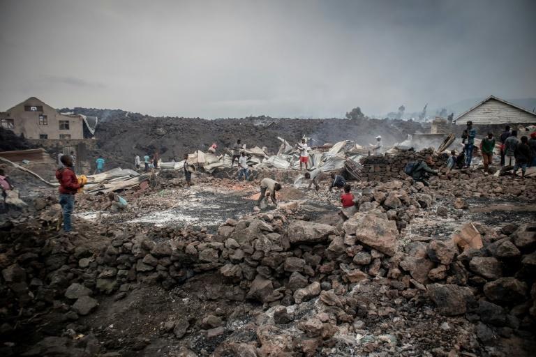 RDC : 150 enfants diparus après l'éruption du volcan, selon l'UNICEF