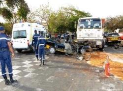 Dernière munite : Accident grave sur l'axe Touba-Dahra,2 morts et 16 blessés graves