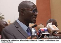 Remise du rapport de l'audit physique et biométrique des agents de l'Etat, vendredi