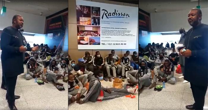 Chavirement d'une pirogue transportant 150 Sénégalais : Amadou François GAYE sermonne les rescapés (vidéo)