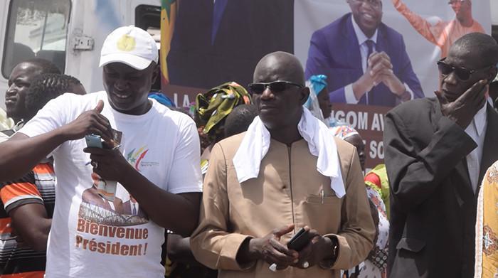 Accueil du président Macky SALL à Saint-Louis : la démonstration de force d'Ibrahima DIAO (vidéo)