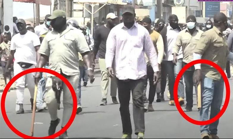 Recrutement des nervis au sein de la police et de la gendarmerie: Seydi Gassama dénonce