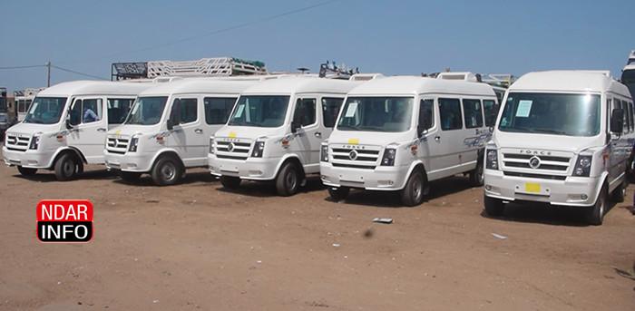 REFORME DU TRANSPORT INTERURBAIN : 25 minicars climatisés introduits dans le circuit Dakar-Saint-Louis (vidéo)