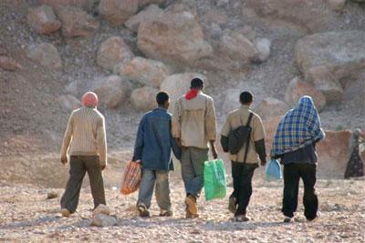 Des migrants clandestins arrêtés près de Nouakchott par le GGSR