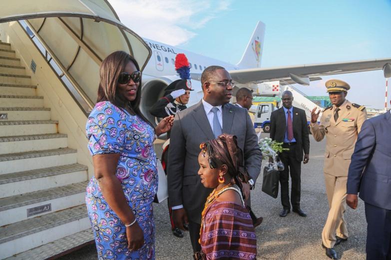 Nouvel avion : Macky et Marième se posent à Nouakchott