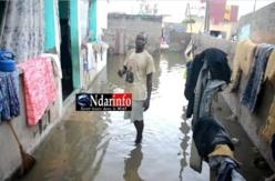 Inondations : 664 sinistrés à Saint-Louis.