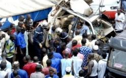 Un accident fait 10 morts et 40 blessés dont 15 dans un état grave sur la route de Kaolack.