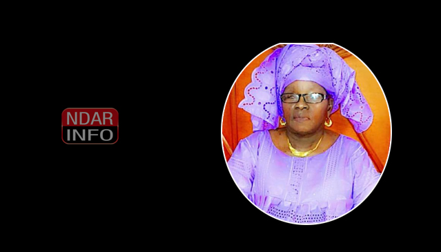 Nécrologie : Décès de Mame Diarra Bousso SOURANG, la belle mère de Dethie FALL