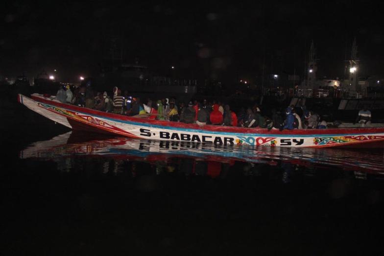 Djifer : 71 migrants clandestins interceptés par la marine sénégalaise