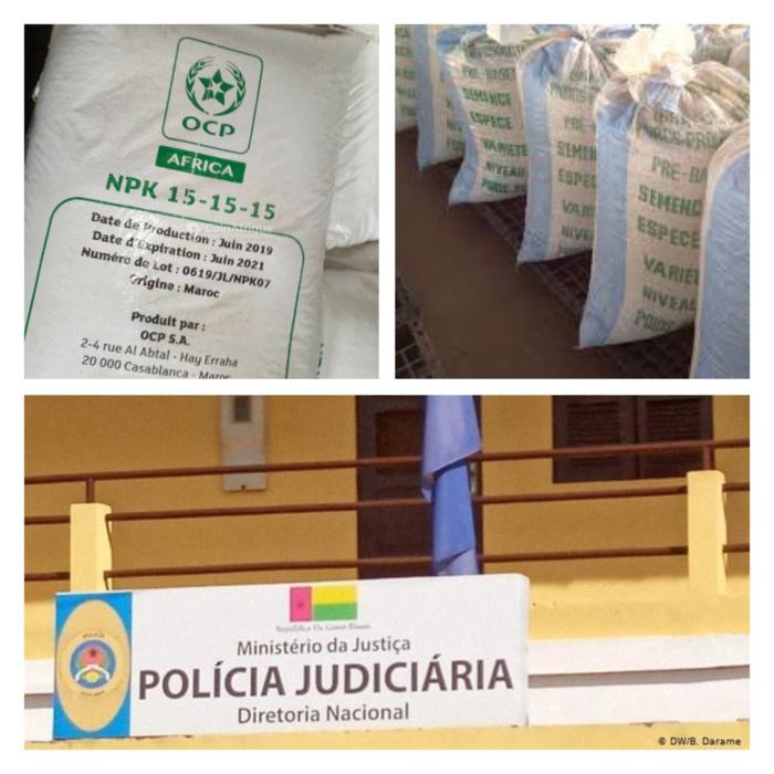 Guinée Bissau : La Police judiciaire met la main sur plusieurs centaines de sacs de semences certifiées offertes par….Macky Sall