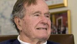 Bush père pleure la mort de Mandela...