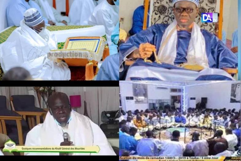 TEMPS FORTS JOURNÉE QACAÏDS / Touba refuse du monde et monte en puissance dans les déclamations de Qacaids et récitals de Coran