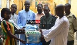 Saint-Louis - Lutte contre le paludisme : 100 moustiquaires remis à la Mac par l'ONG Xippi.