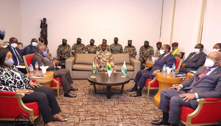Rencontre chef de la junte-Ouattara et Akufo-Addo : un premier contact plutôt prometteur