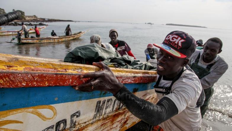 Une centaine de pêcheurs sénégalais retenus en Guinée par les garde-côtes