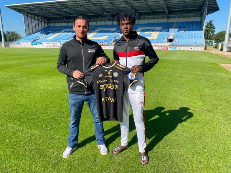Mercato : Mohamed Rassoul Ba et Mouhamed Diallo de la Linguère de Saint-Louis rejoignent le FC Gueugnon de France